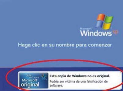 Como eliminar el aviso WGA en Windows XP
